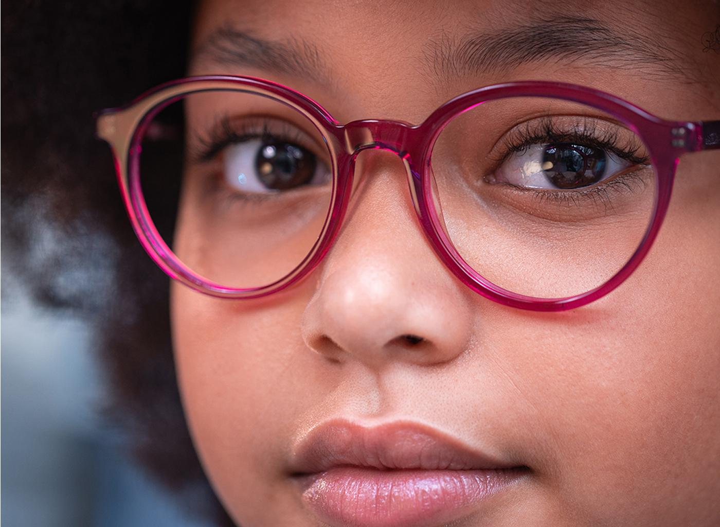 Paarse Kinderbril