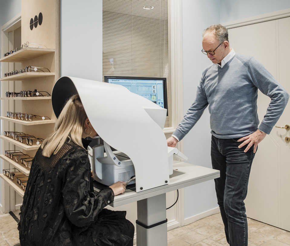 Ron Zwart Optometrist Professionele Oogmeting